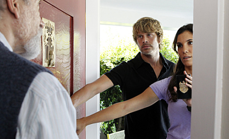 Deeks and Kensi in Action