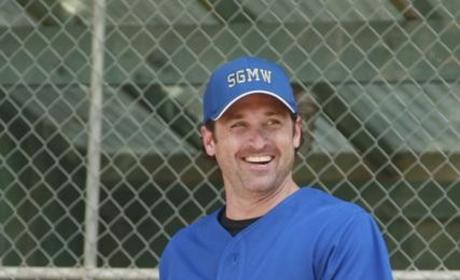 Hot Softball Player