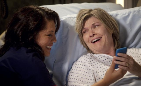 Callie and Mrs. O