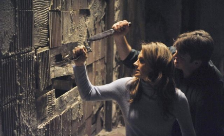Castle Review: Handcuffed, Hot and Heavy!
