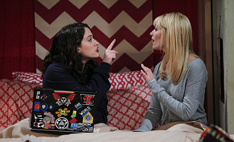 2 Broke Girls Review: Chestnut Freezing in an Open Backyard