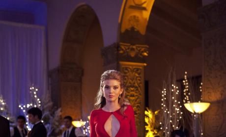Naomi in Red