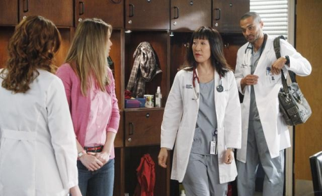 "Grey's Anatomy ""If/Then"" Photos: The Shepherds! Braided Bailey! Malex!"