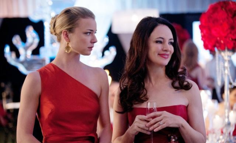The Emily Thorne Stare