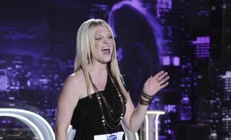 Britnee Kellogg on American Idol