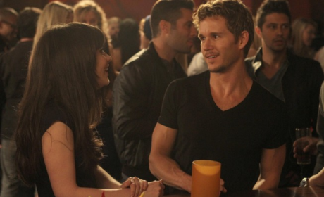 Ryan Kwanten on New Girl