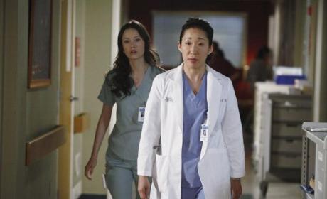 Cristina Walks Off