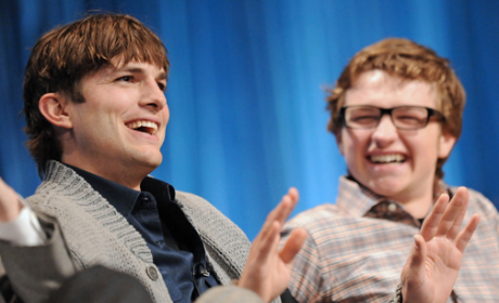 Ashton Kutcher at PaleyFest