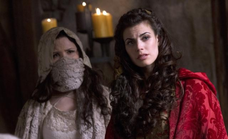 Meghan Ory Talks Once Upon a Time Twist: What Did She Know?
