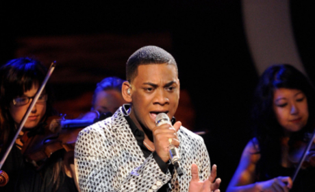 Joshua Ledet on Stage