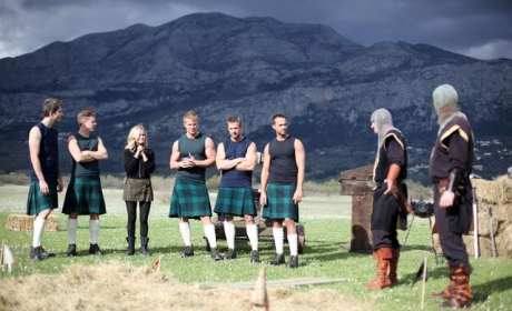 The Bachelorette Review: Men in Skirts