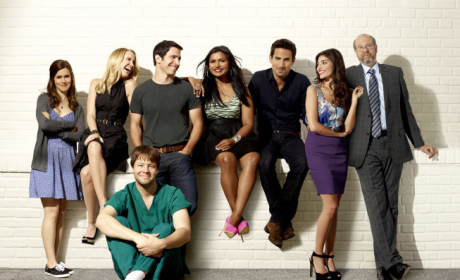 The Mindy Project Cast Pic