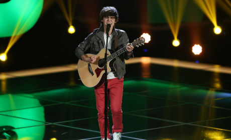Mackenzie Bourg's Blind Audition