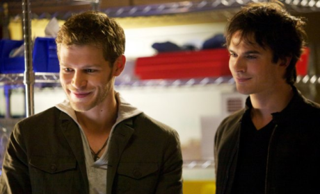 Klaus and Damon