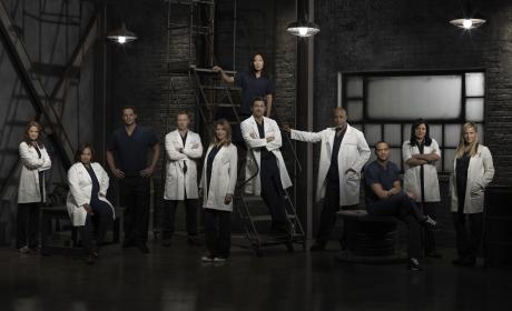 Grey's Anatomy Cast: New Season 9 Photos!