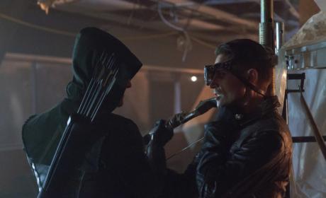 Arrow vs. Deadshot