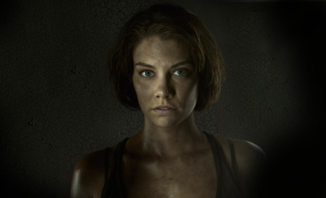 The Walking Dead Exclusive: Lauren Cohan on Loving Prison, Darkness Ahead and More!