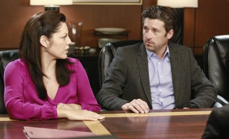 Callie With Derek
