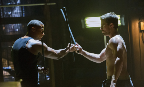 Diggle vs. Arrow