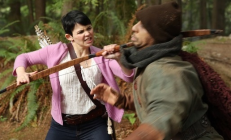 Once Upon a Time Photos: A Fight in the Forest