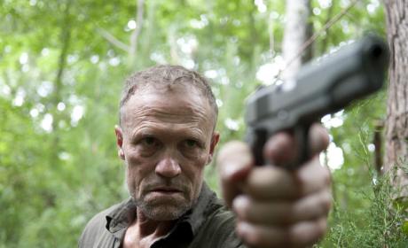 Merle with a Gun