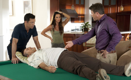Burn Notice Review: ... And Into The Fire