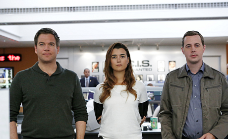 Tony, Tim and Ziva Photo