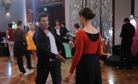 Bones Photo Preview: Booth, Brennan and Ballroom Dancing!