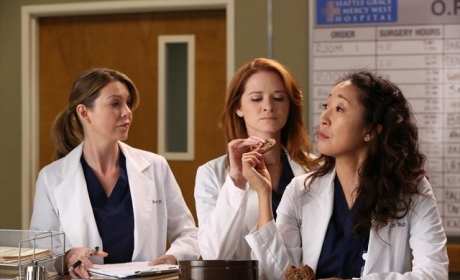 Grey's Anatomy Q&A: Sarah Drew on Love Triangle, Future of April and More