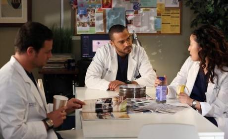 Yang, Avery and Karev