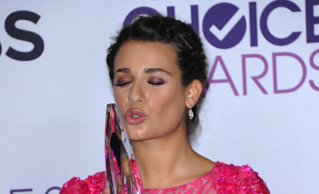 Lea Michele at People's Choice Awards