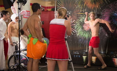 Glee Gets Naked: New Episode Stills!