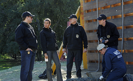 At the Crime Scene (NCIS)