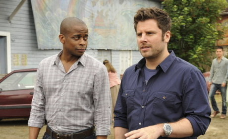 Dule Hill Previews Psych Season 7, Romance for Gus