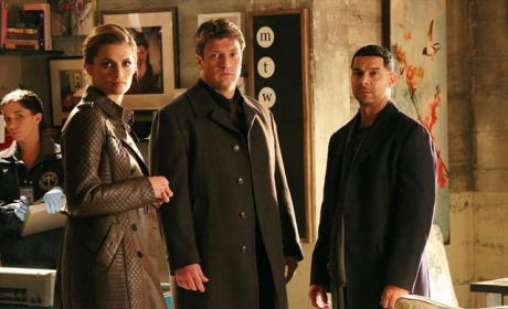 Castle, Beckett and Espo