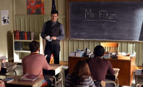 Greeting Mr. Fitz