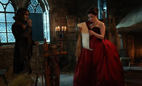 Cora and Rumplestiltskin Flashback