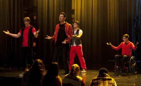 Feuding on Glee