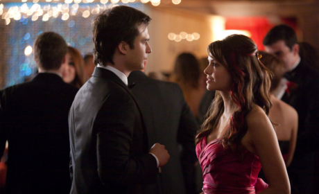 Mystic Falls Prom Pictures: Fashion and Flasks!