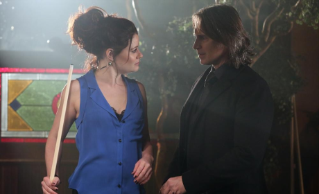 Once Upon a Time Exclusive: Emilie de Ravin Reveals Belle's Outrageous Alter-Ego