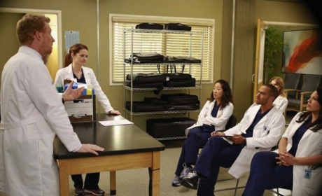 Grey Sloan Memorial Staff Meeting