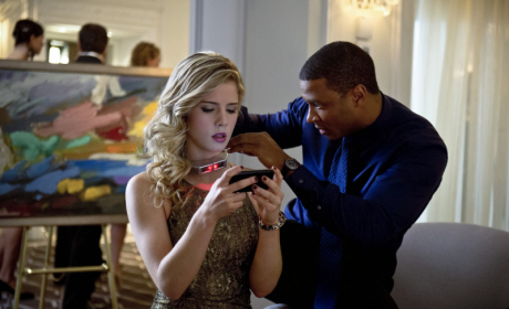 Arrow Exclusive: Emily Bett Rickards on Felicity in the Field, A Romance with Oliver and More!