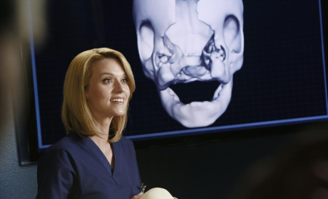 Hilarie Burton on Grey's Anatomy