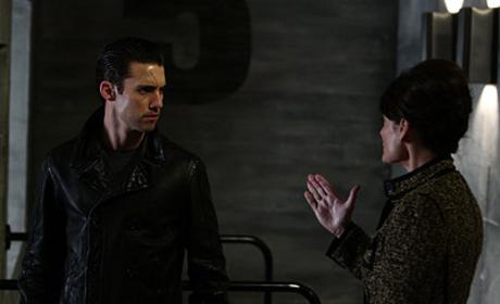 Mother Petrelli Peers Ahead on Heroes