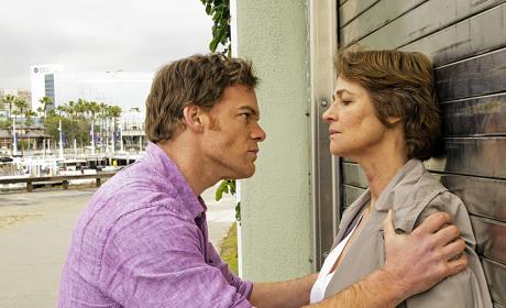 Dexter and Dr. Vogel