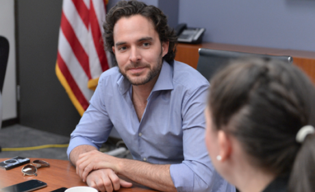 Covert Affairs Q&A: Manolo Cardona on a Complicated Character, Daddy Issues and More