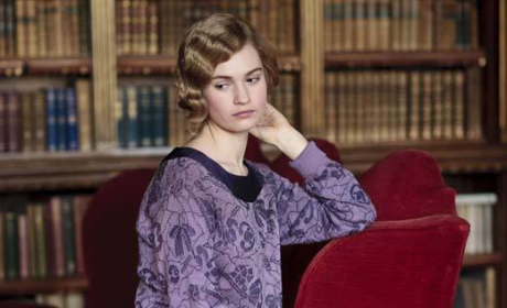 Lily James as Lady Rose