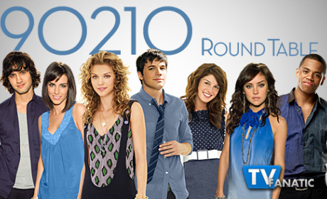 "90210 Round Table: ""It's Getting Hot in Here"""