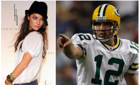 Jessica Szohr: Dating Aaron Rodgers!