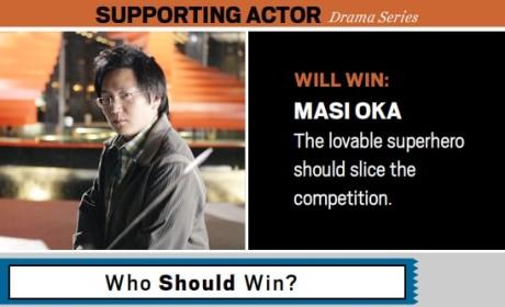 Masi Oka Will Win the Emmy Award